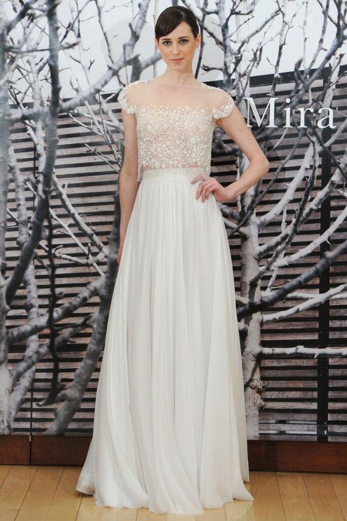 Vestidos de novia primavera 2015