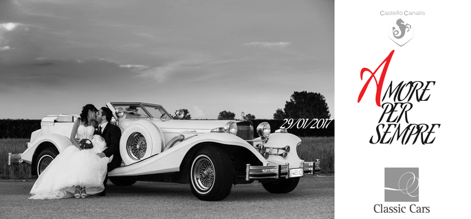 Amore per Sempre - Wedding Day - Classic Cars