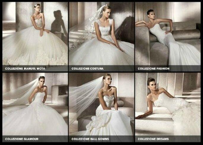 Pronovias è una griffe che propone moltissimi stili e modelli. Sicuramente troverete qualcosa che vi piacerà. Foto www.unsitoacaso.it