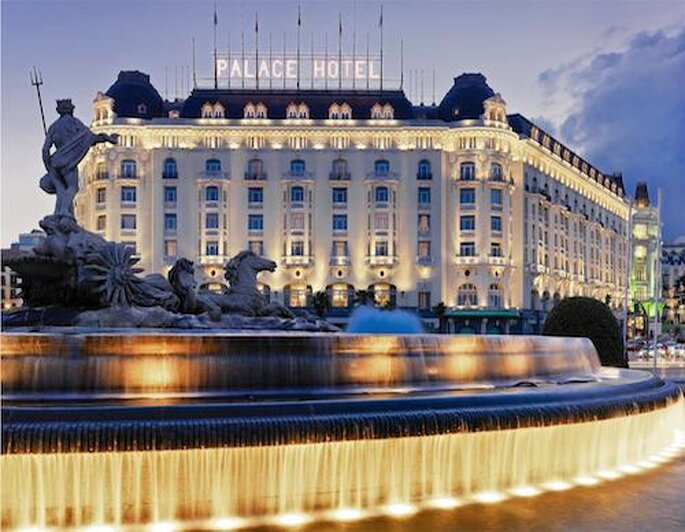 Destination wedding menus at The Westin Palace, Madrid