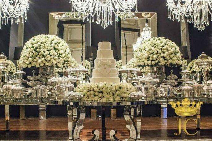 mesa - Decoração de casamento em Curitiba