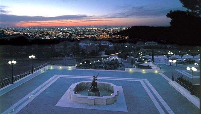 Lo splendido panorama che domina Roma. Foto: Pagina Facebook Domus Cesari