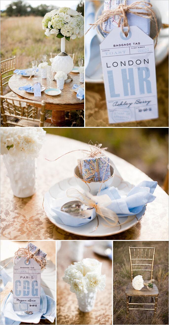 Montajes que transformarán la decoración de tu boda - Foto Cat Mayer Studio