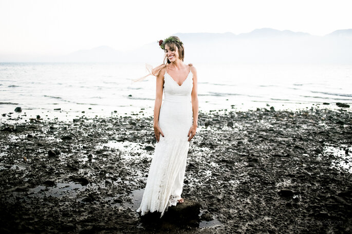 Vestido Carla Gaspar Atelier. Foto: Mira Cerviño