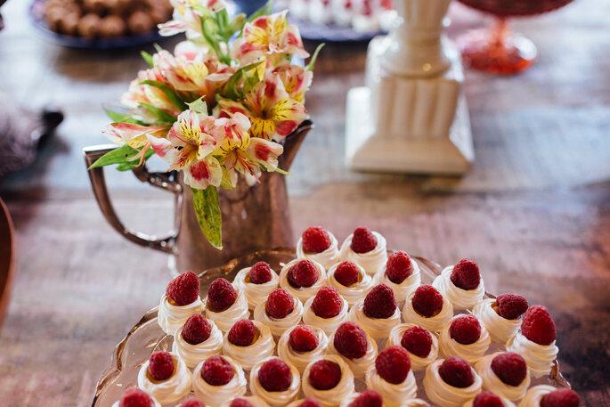 doces de casamento