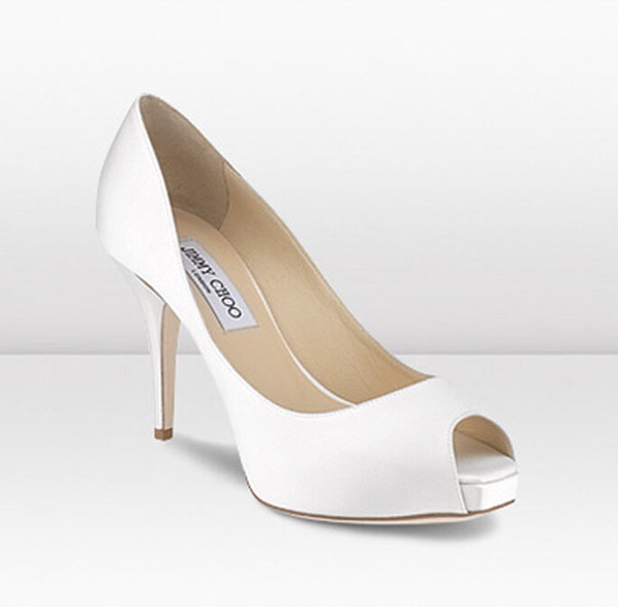 Zapatos estilo peep toe - Jimmy Choo 2012