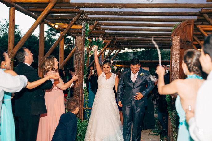 Vestido de noiva: Fashion Noivas | Foto: Samuel Campos Fotografia