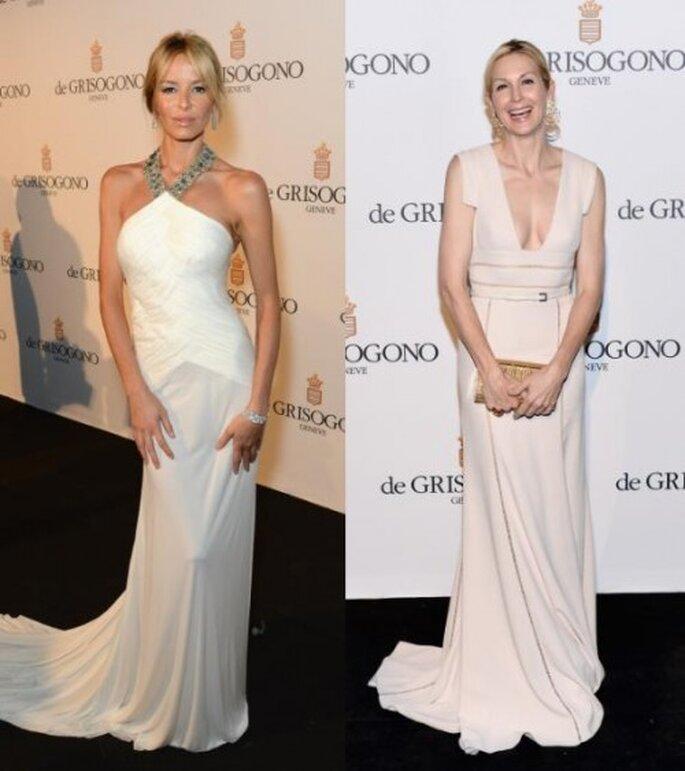 Carolina Parsons y Kelly Rutherford, Festival de Cannes 2012. Foto de Image.net.