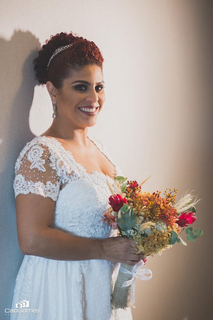 Primeira noiva pronta