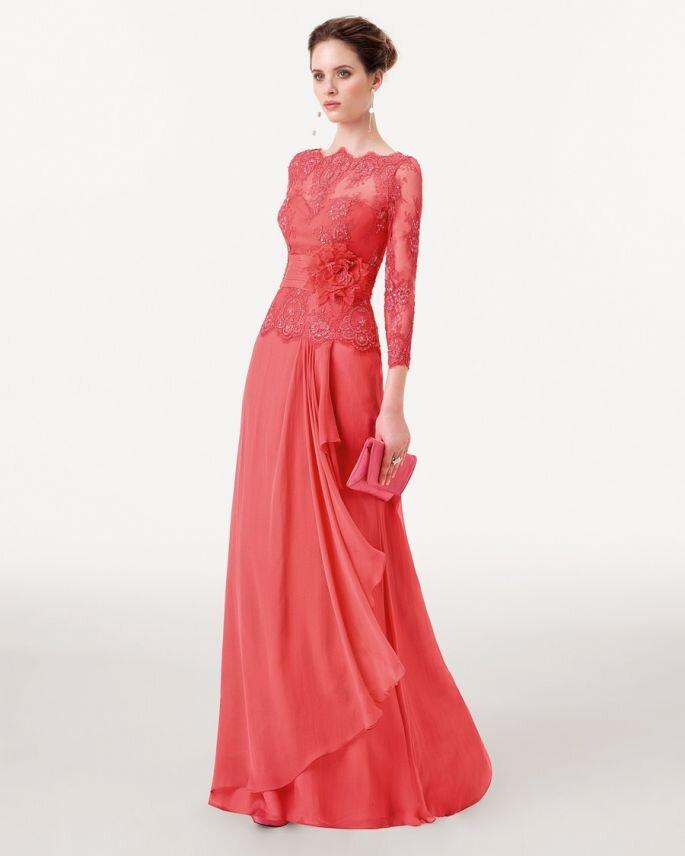 Vestido Madrinha Goiaba