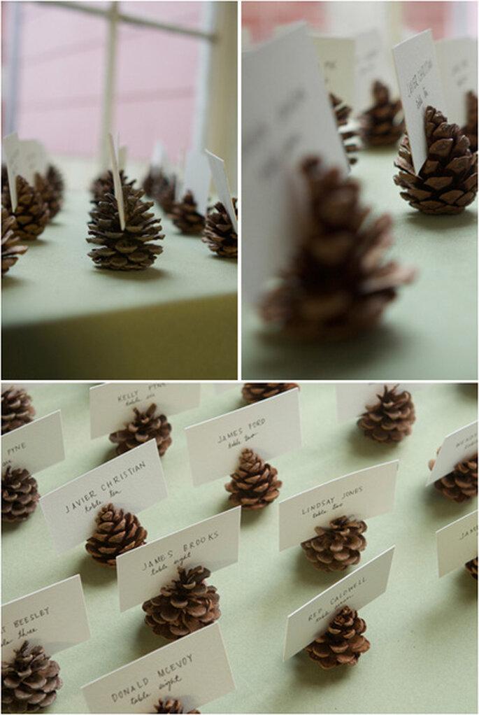 Ideas DIY para boda en invierno. Foto de Project Wedding.