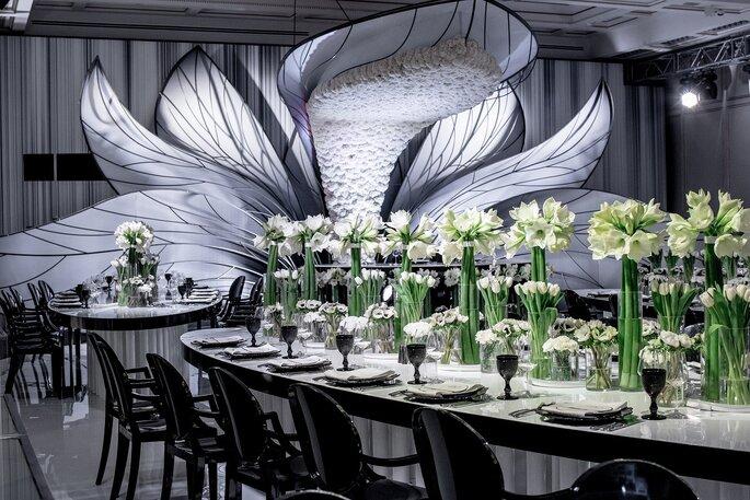 Сервировка свадебного стола: правила и идеи
