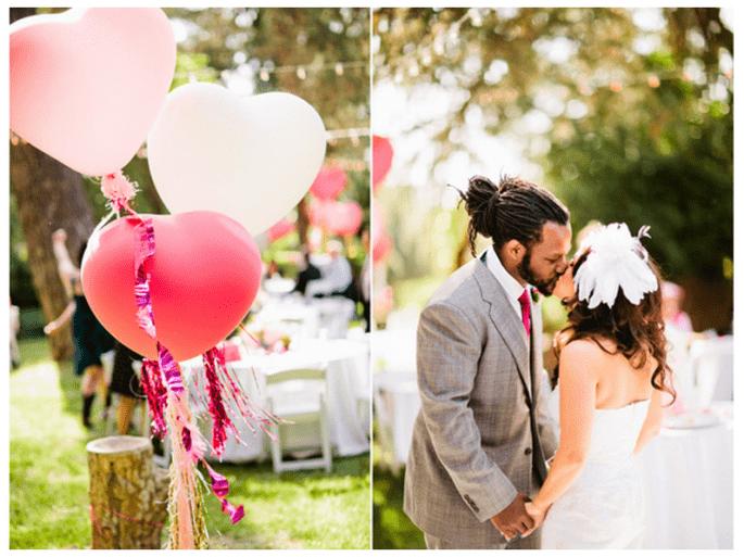 Globos en bodas, la nueva tendencia en decoración para 2014 - Foto Jacob Mariano