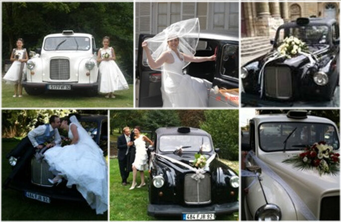 editor 39 s friday favourite un taxi anglais comme voiture de mariage. Black Bedroom Furniture Sets. Home Design Ideas