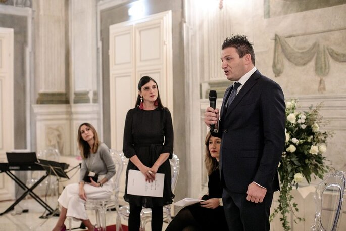 Gianni Stanzani, co-owner e CEO di Palazzo Pucci Events&Academy
