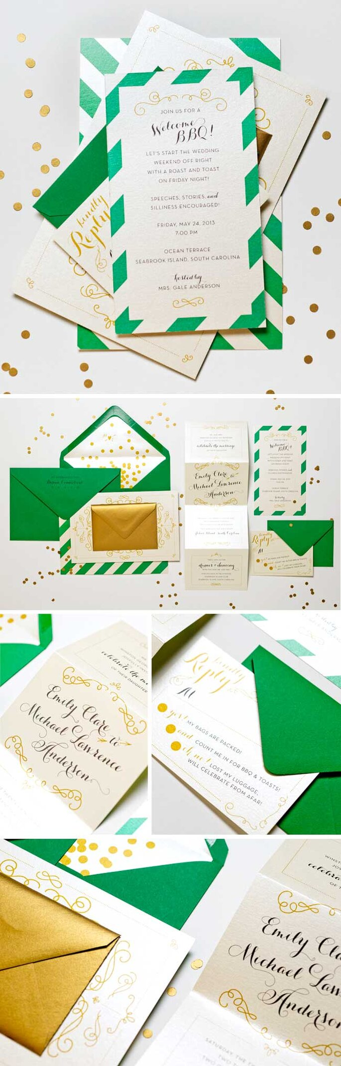 Boda en verde - Lilly and Louise