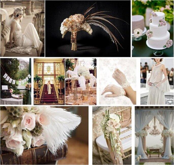Inspirez-vous du style Gatsby le Magnifique pour votre mariage - Photo : DG Organisation