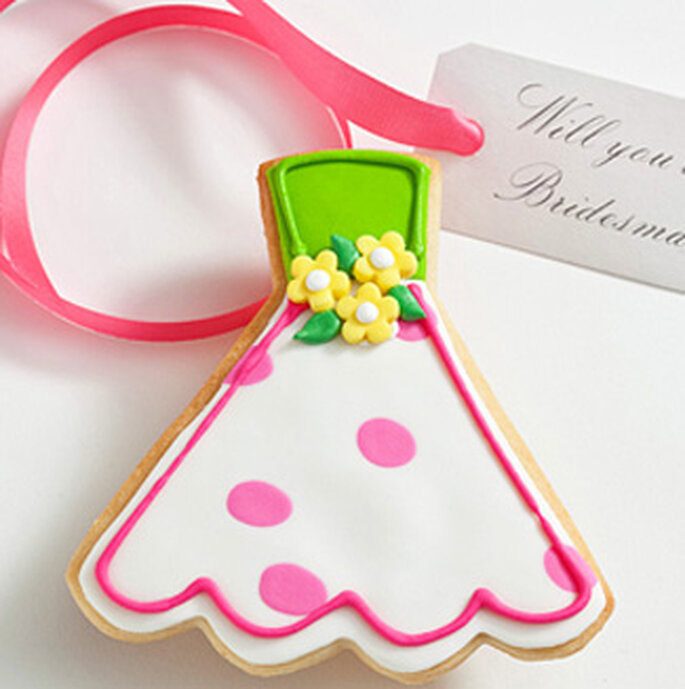 Carte demoiselle d'honneur - Cookie cards