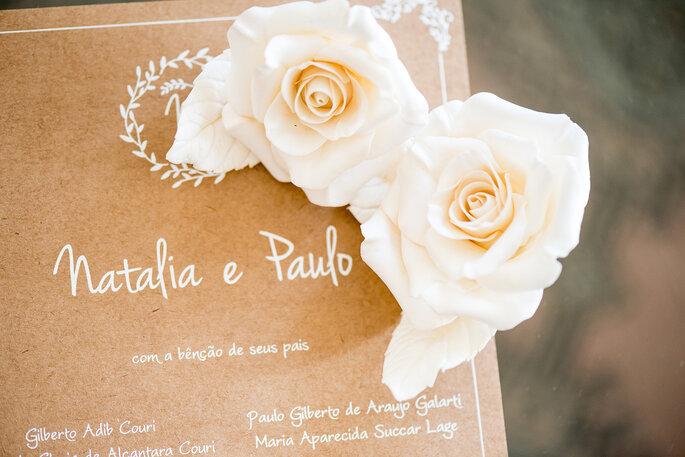 Convite casamento Papel e Estilo