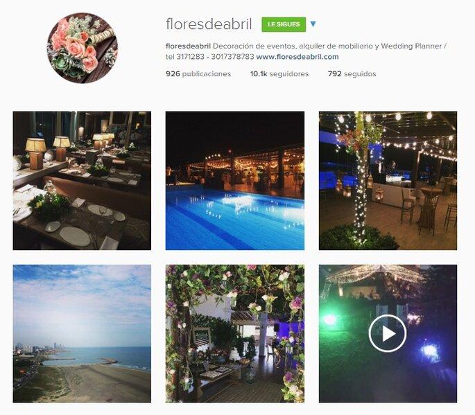 Imagen Vía Instagram Flores de Abril