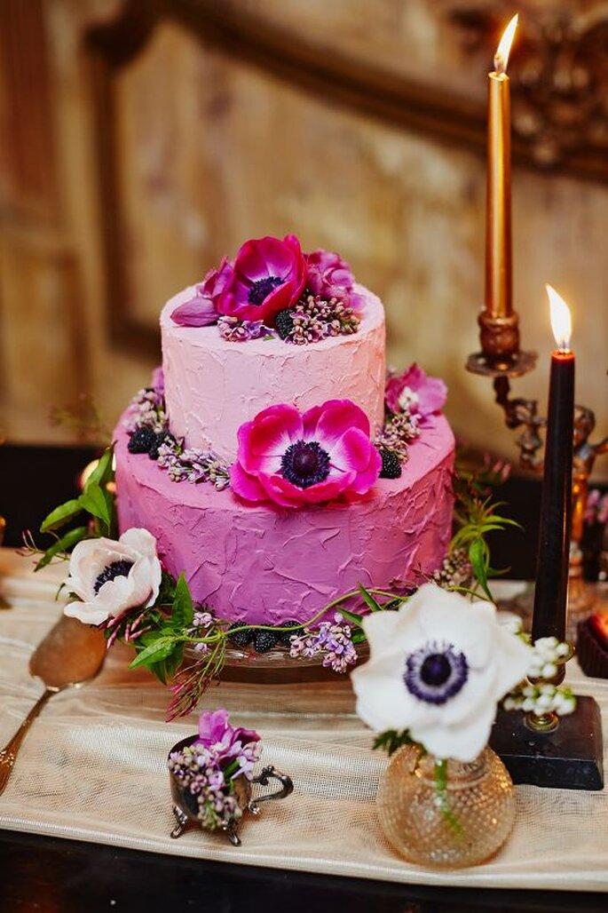 торт с цветами брассика