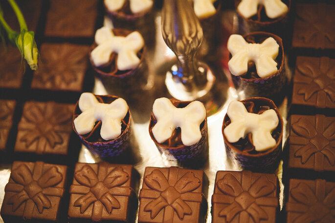 Chocolates Finos Casamento