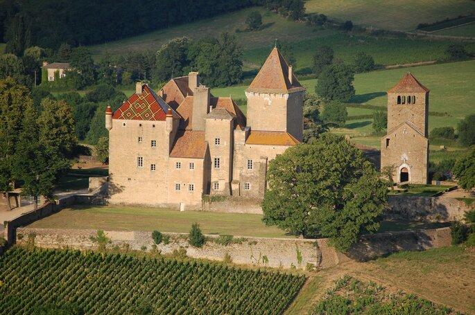 Château de Pierreclos - Lieu de réception mariage - Bourgogne