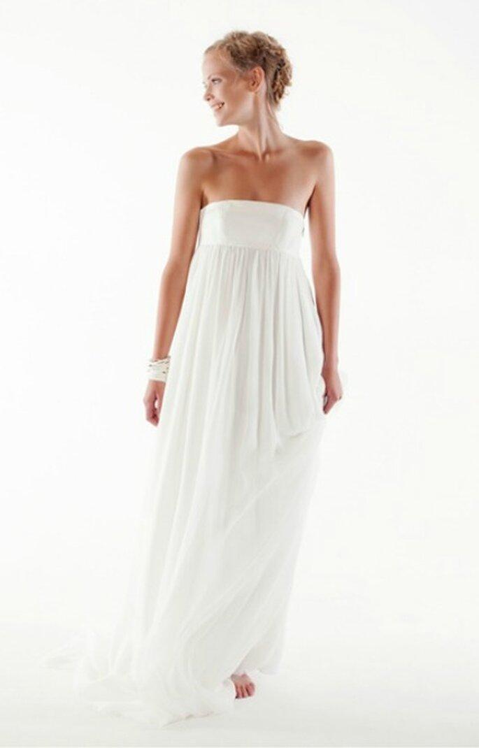 Robe de mariée bustier 2013 - Orlane Herbin