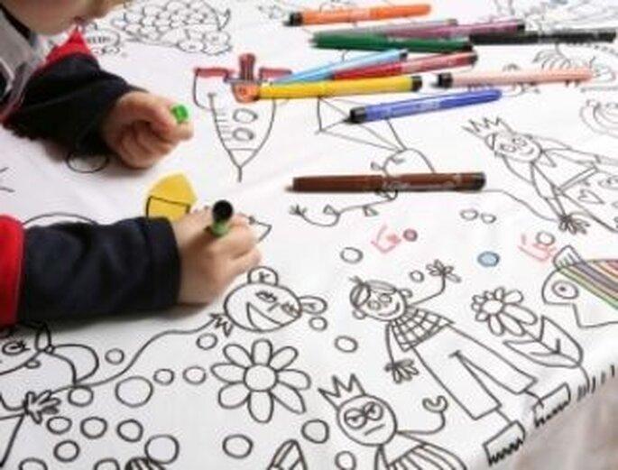 Nappes à colorier de Marielle Bazard - Lecoindescreateurs.com