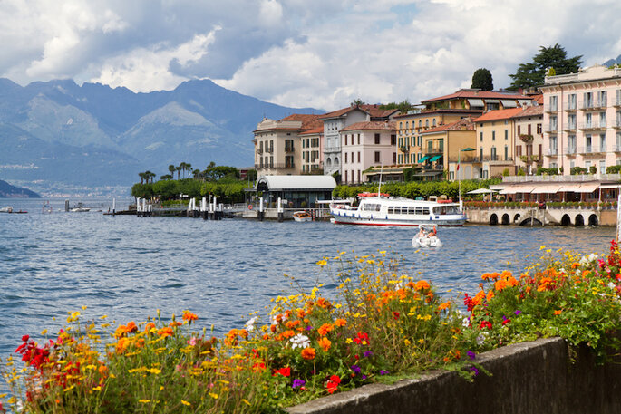 Lago de Como - haraldmuc en Shutterstock