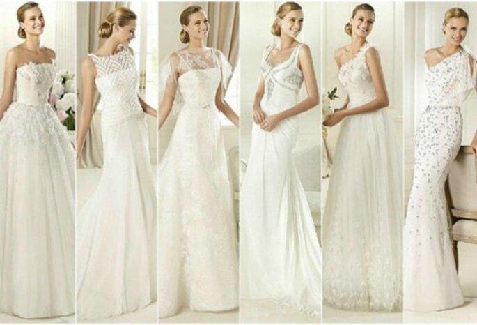 En quel tissu sera votre robe de mariée 2013 ? - Photo : Pronovias