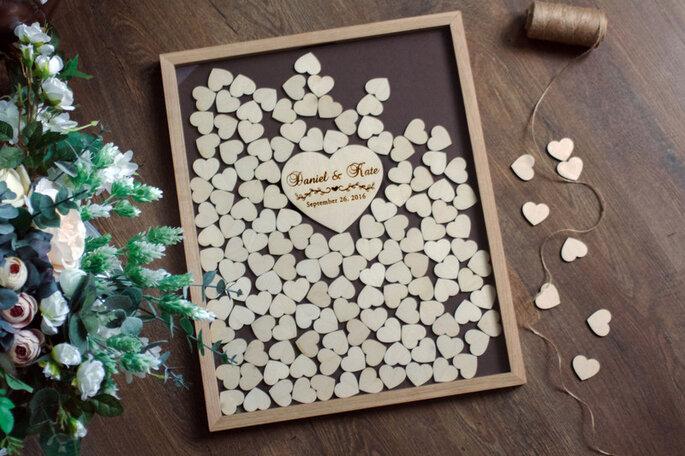 ideas originales para reunir firmas de tus invitados de la boda