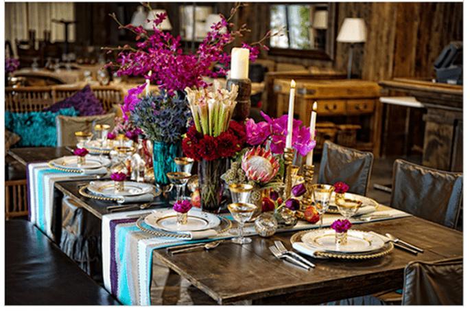 Décoration de mariage en orchidée radiante - Photo Matt Theilen Photography