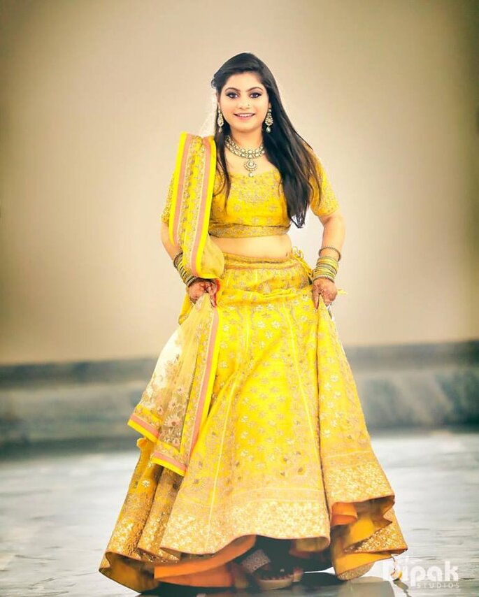 Top Colour Choices for Mehndi Outfits For Brides,To,Be