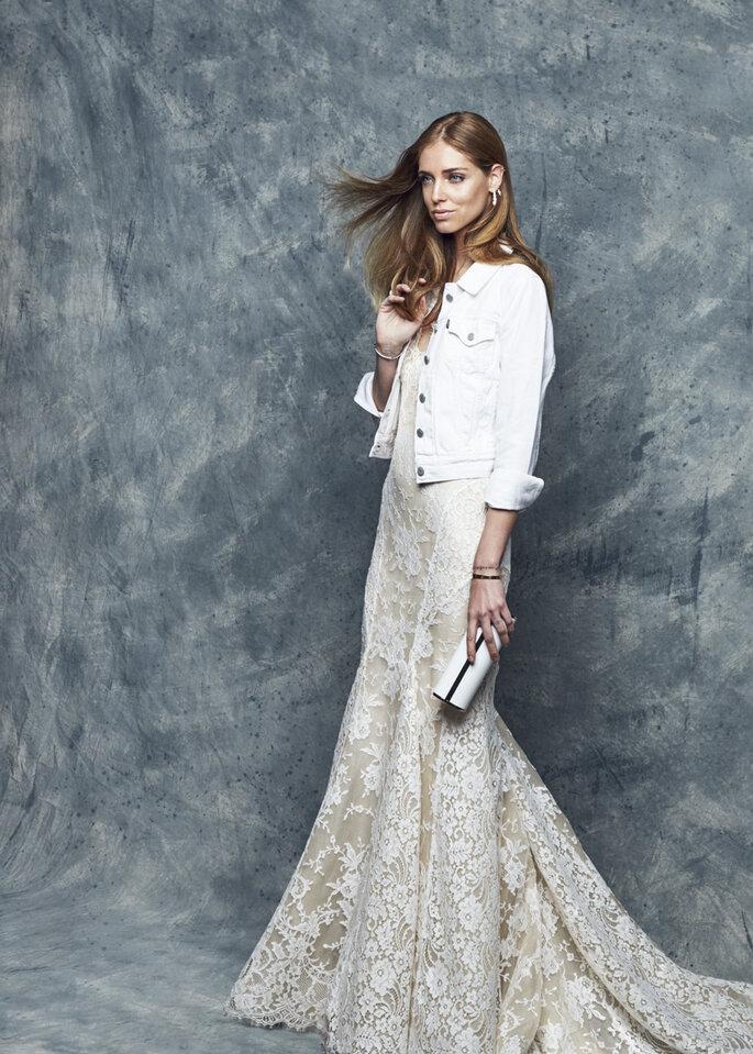 Vestido de novia Chiara Ferragni.