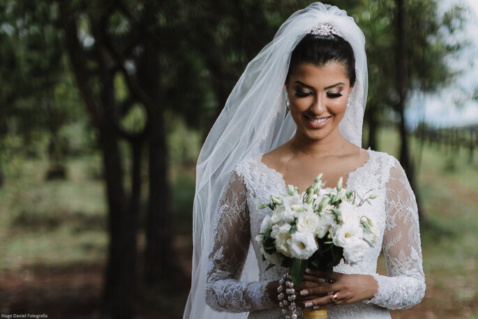 Ensaio pré-casamento com a noiva