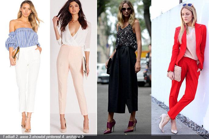 limited guantity new release exclusive shoes Tenue d'invitée : comment porter le pantalon à un mariage