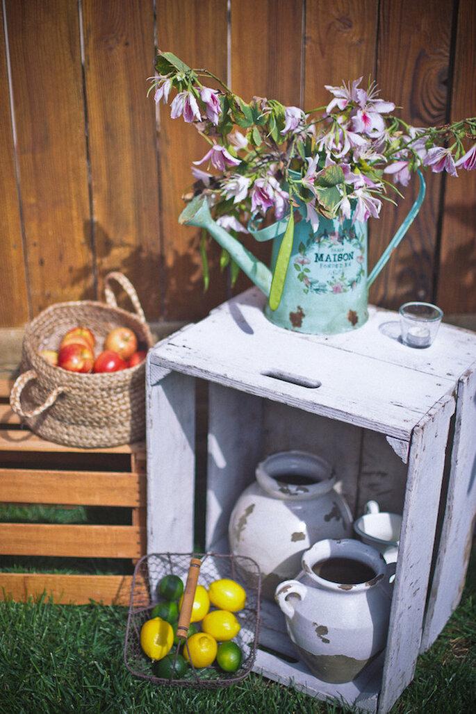 Lindos jarrones para decorar tu boda con estilo - Foto Jose Valdez