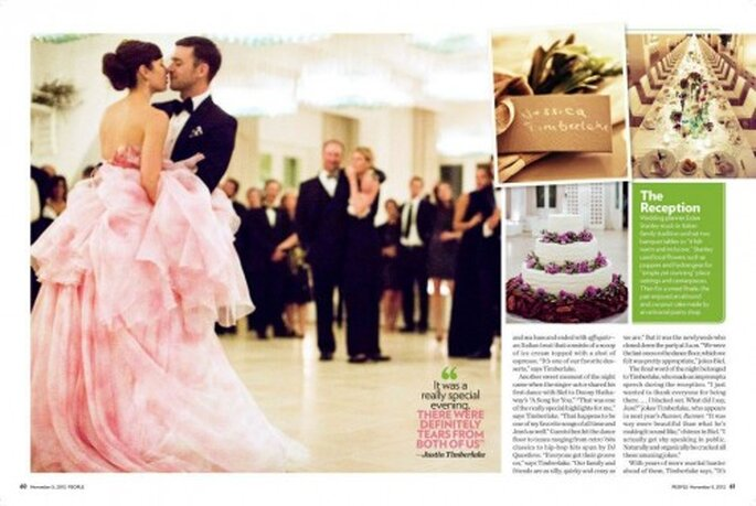 Detalles de la fiesta de boda de Justin Timberlake y Jessica Biel - Foto Tom Ford Facebook