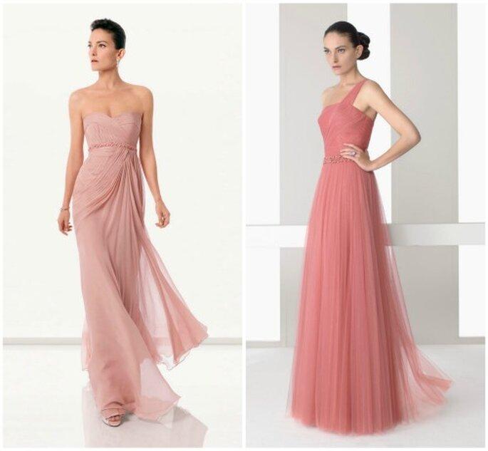 Vestidos de fiesta de Rosa Clará - Diseño griego