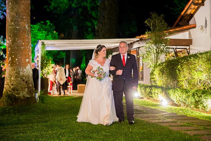 vestido casamento ao ar livre