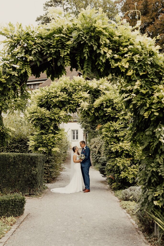 Brautpaar beim Shooting