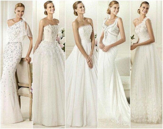 Pronovias 2013, une sélection de robes de mariée. Photo : Pronovias