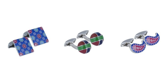 Palladium cufflinks. Credits: Olimpo
