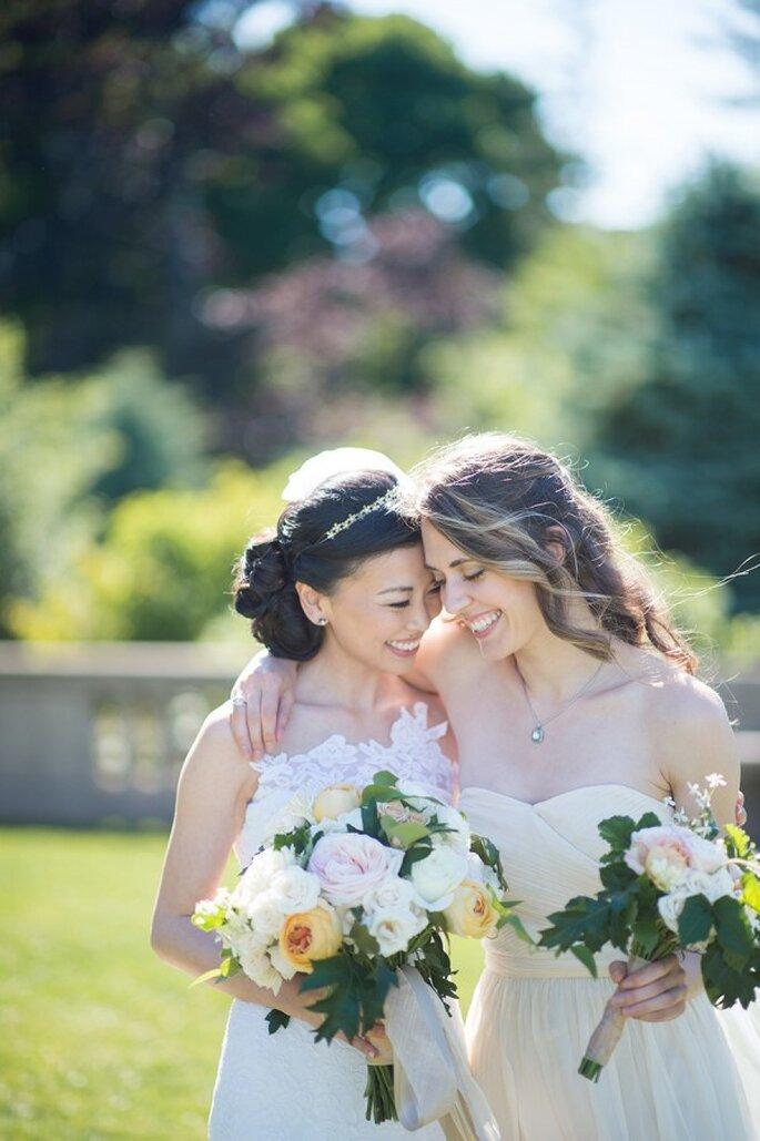 6 tips infalibles para elegir a tus damas de boda - Foto Jenny Moloney Photography
