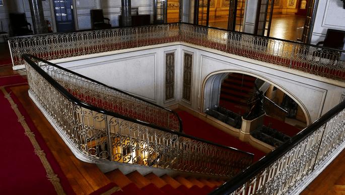 Escadaria do Palácio Ateneu Comercial - Porto