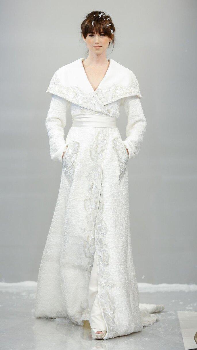 Las tendencias más grandiosas en vestidos de novia 2015 - Theia oficial
