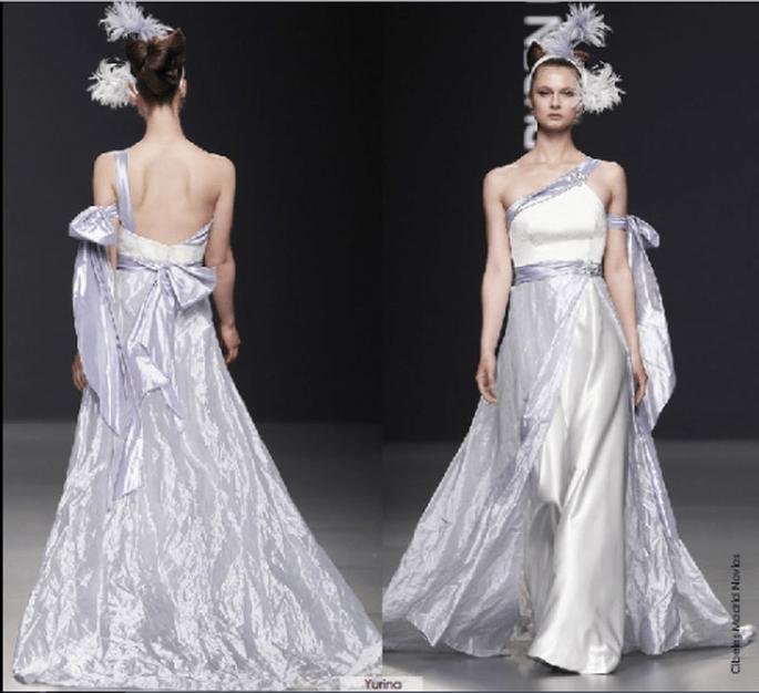 Vestido Yurina, colección 2012 Rubén Perlotti