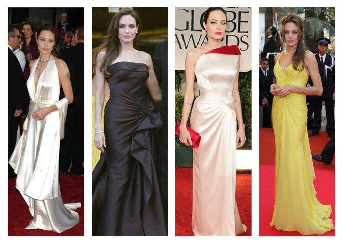 Fisico magro e proporzionato come Angelina Jolie? Ecco il modello di abito perfetto per voi: la linea a sirena! Foto: Youtube