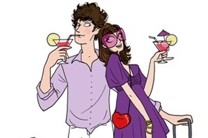 Incluir a Lua-de-mel na Lista de Casamento